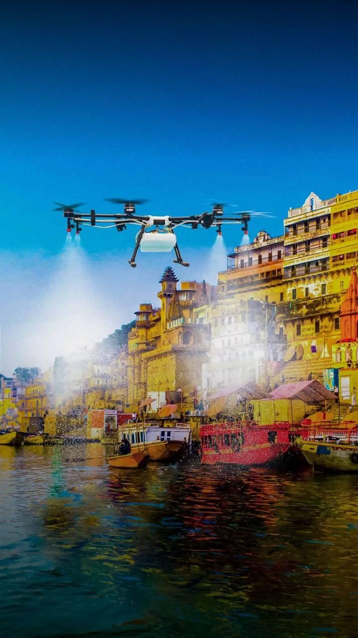 Varanasi drone