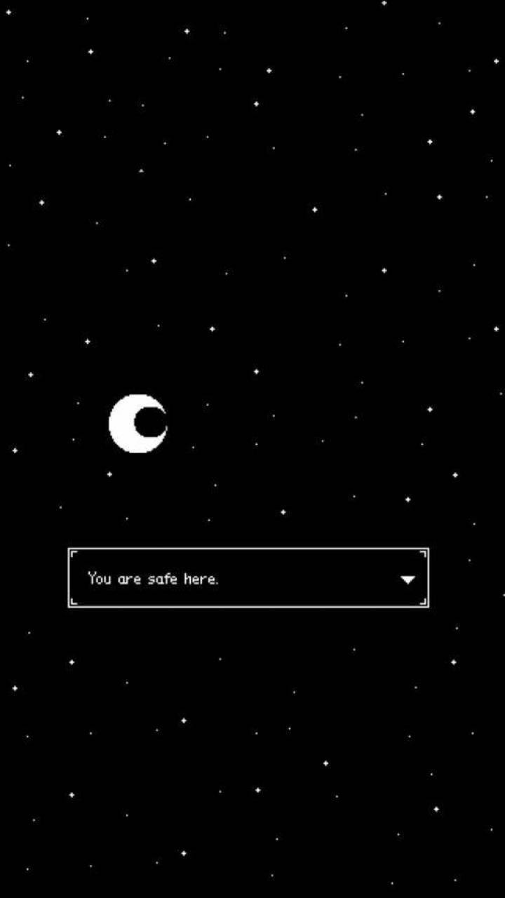 Retro night sky