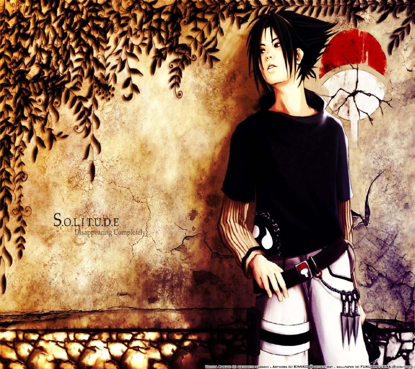 Sasuke Painting Hd