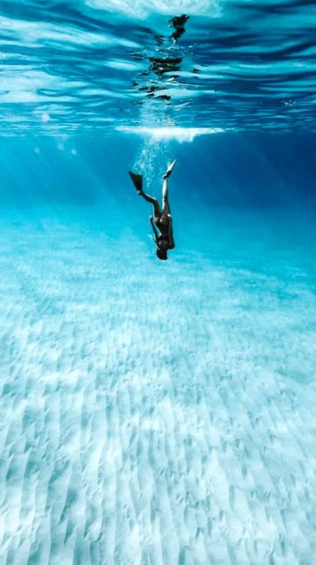 Diving diva