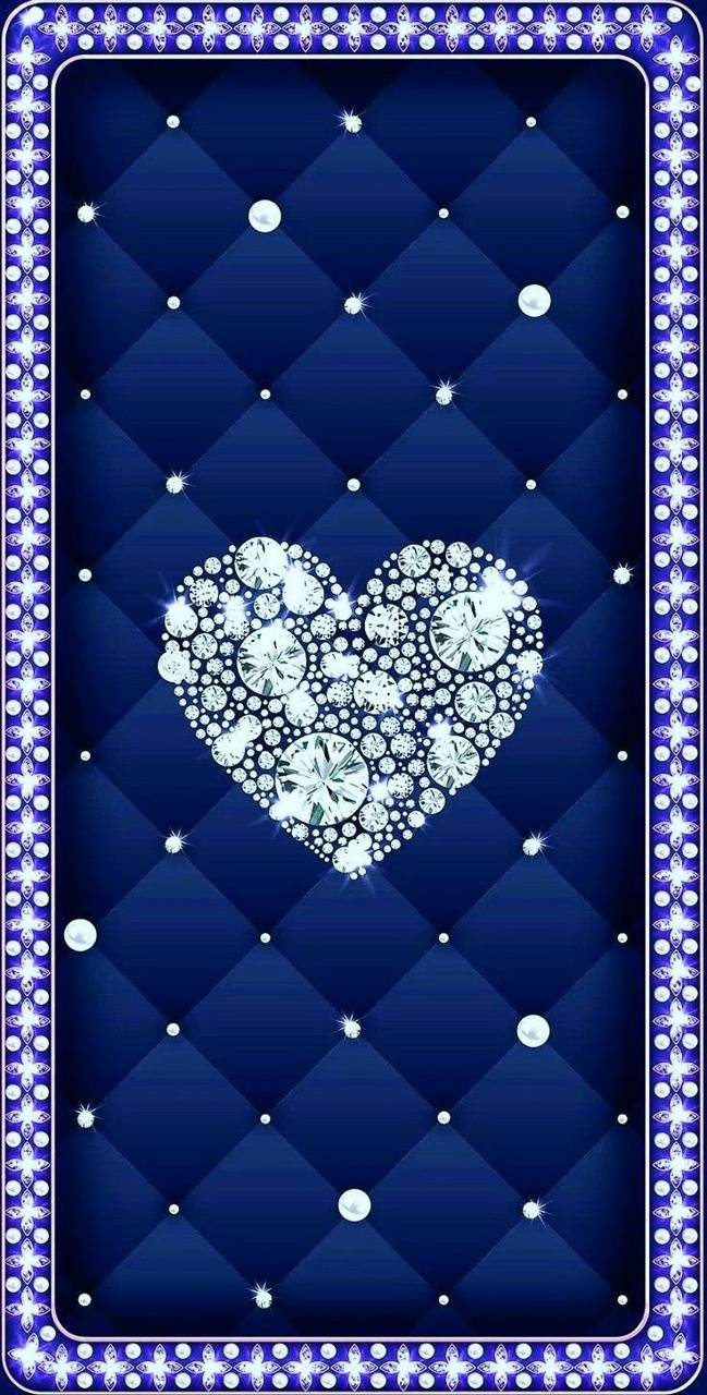 Heart bling