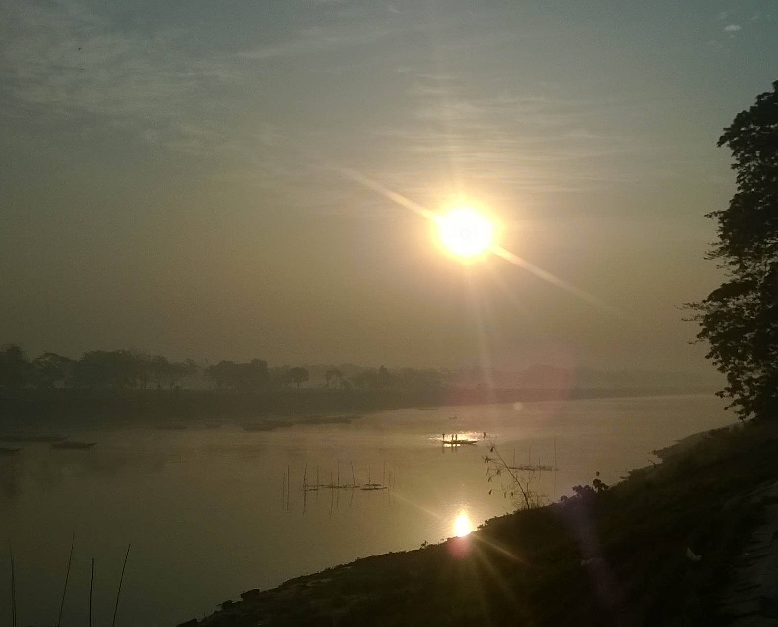 Sunrise in BANGLADES