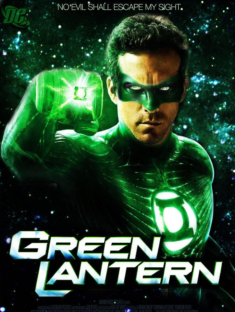 Green Lantern Pos