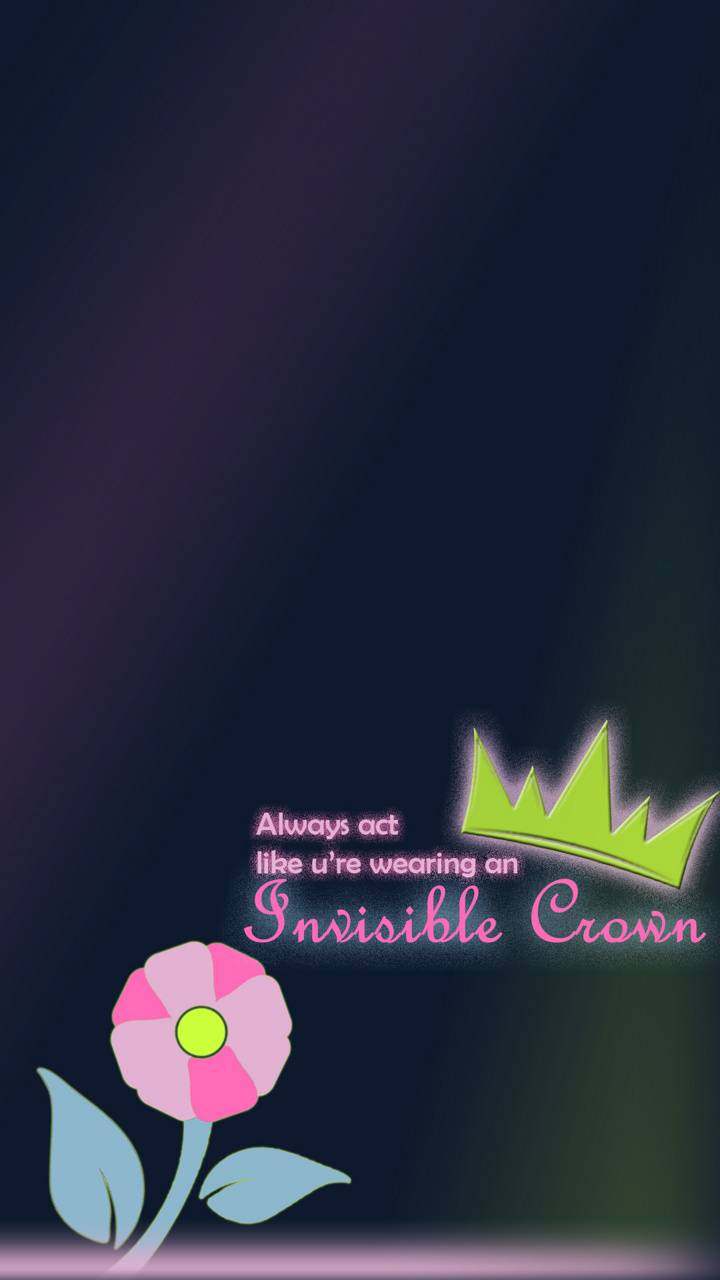 crown quote for girl