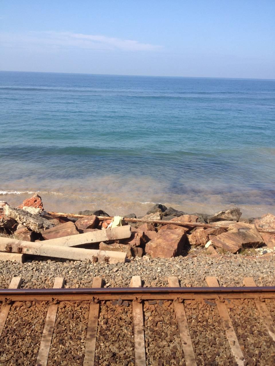 Train track Beach