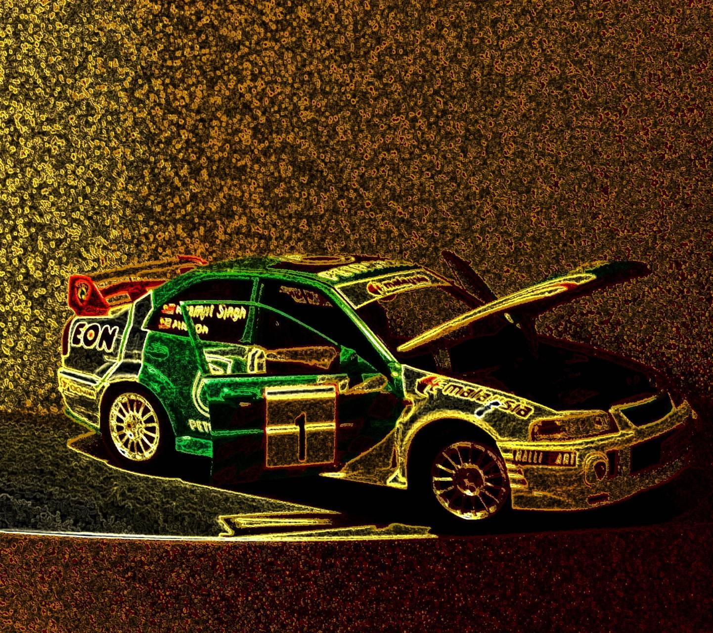 Mitsubishi rally