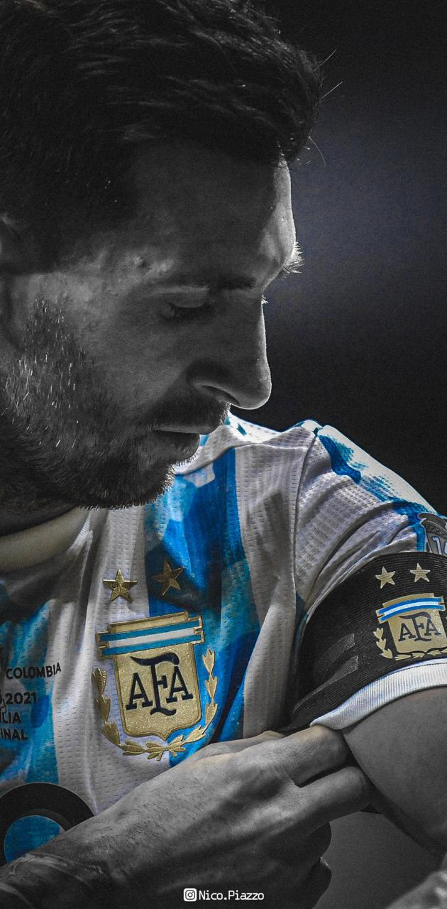 MESSI ARGENTINA CUP