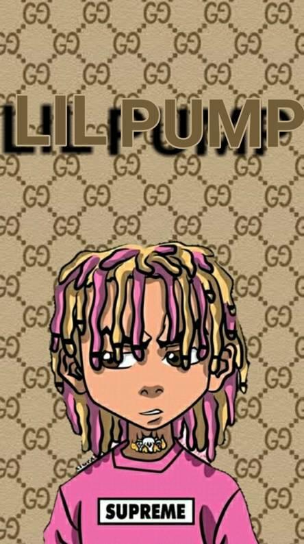 Lil Pump Gucci Gang Wallpaper Wall Bestkitchenview Co