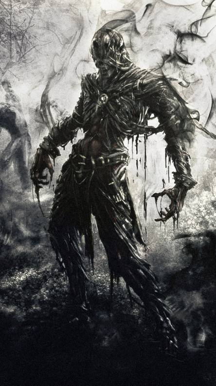 Zombie Fantasy Art