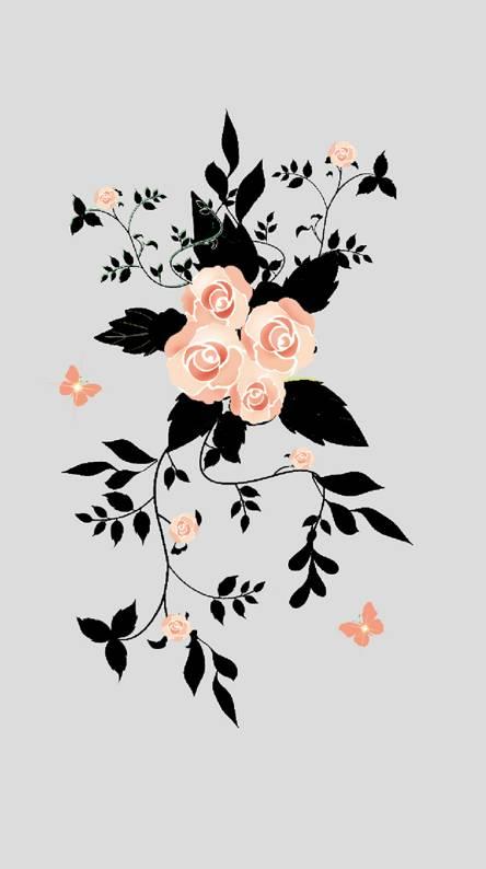 Roses leaf 15