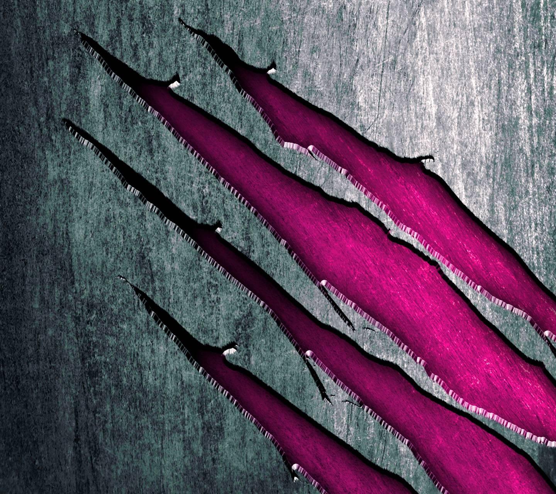 Purple Scratches