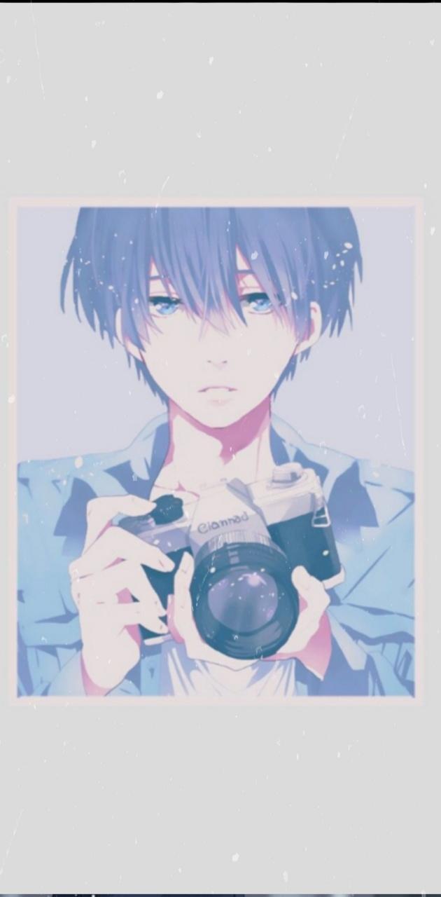Aesthetic anime boy