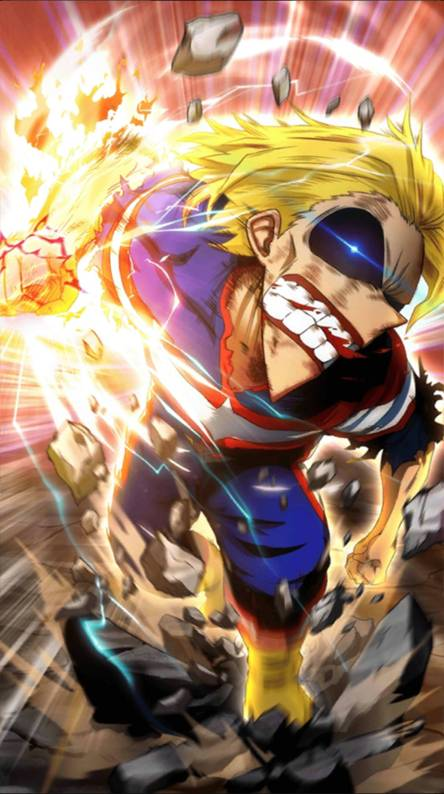 All Might Wallpapers Free By Zedge