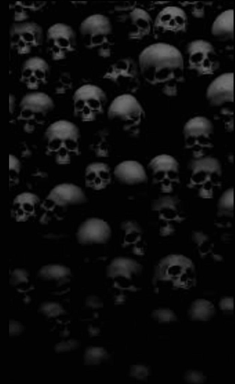 Fading skulls