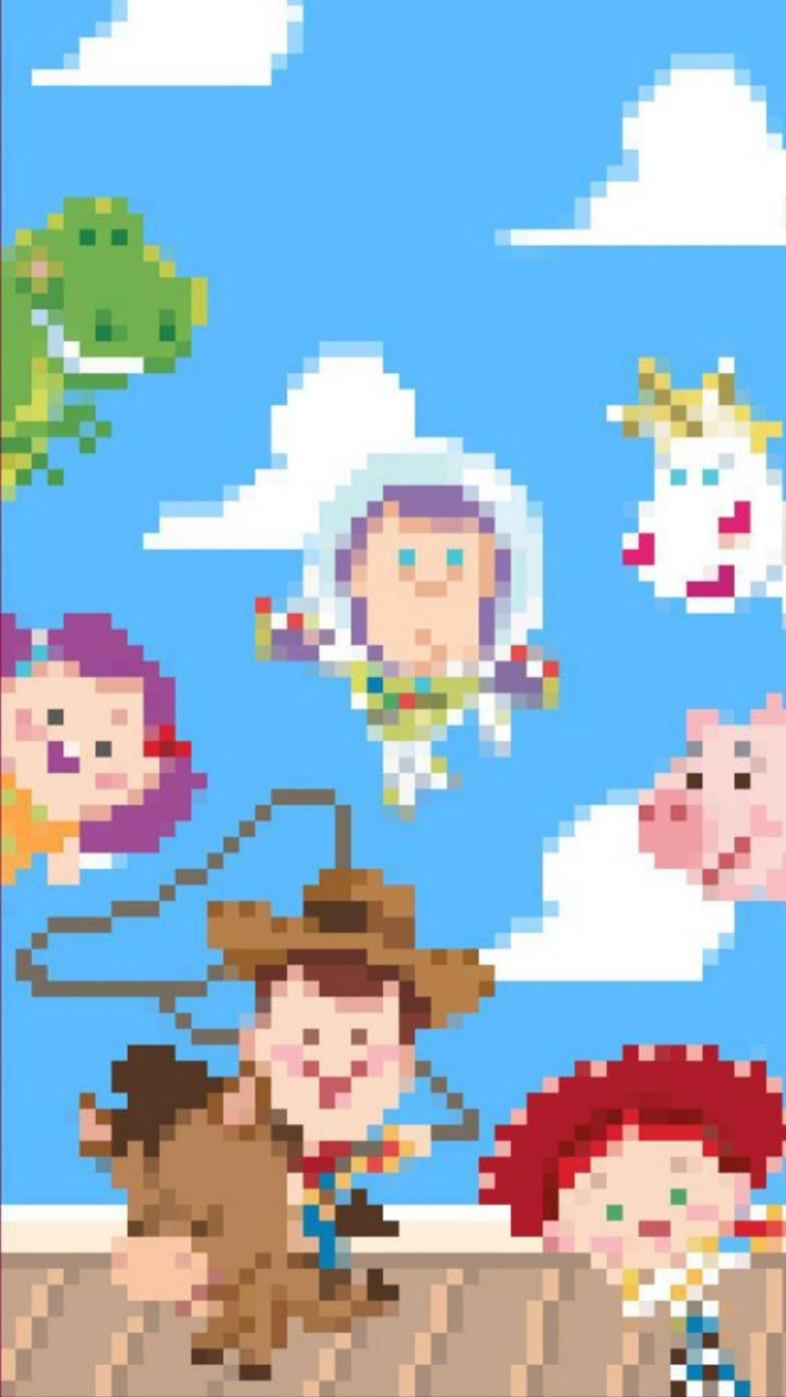 Pixelated Toy Story Wallpaper By Sammisamz420 Ba Free On Zedge