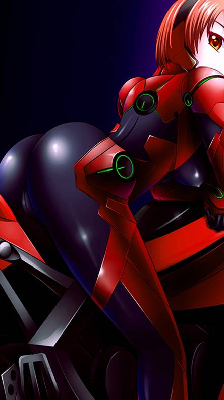 Anime in Red