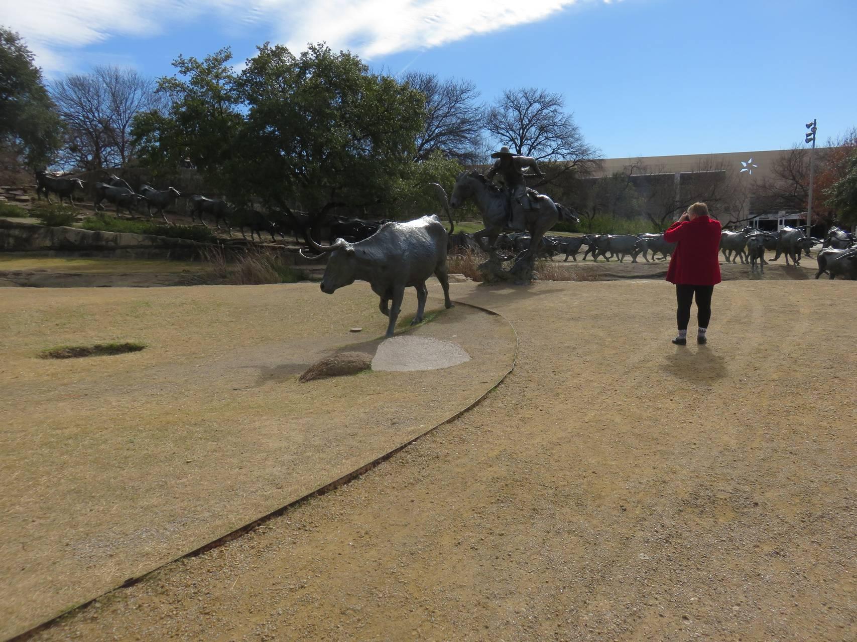 Mustang Sculptures