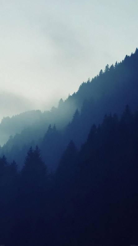 above mountain