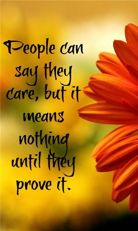 Nice saying