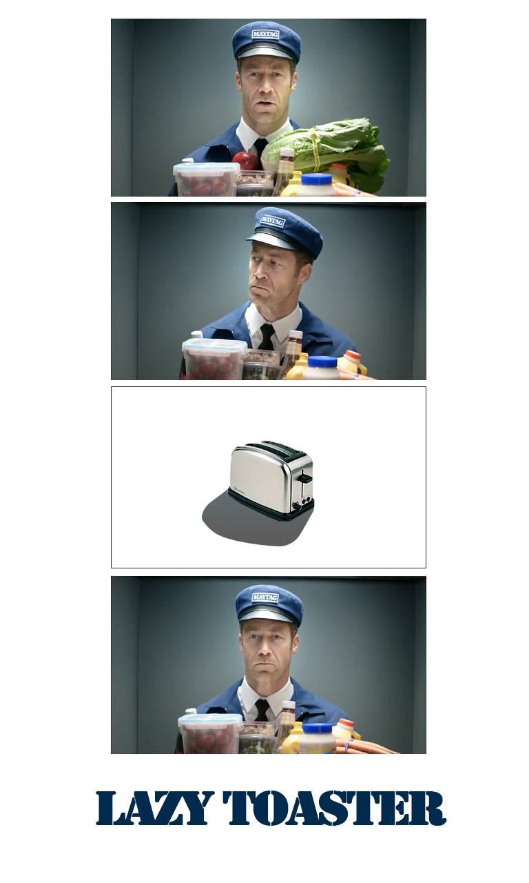 Lazy Toaster