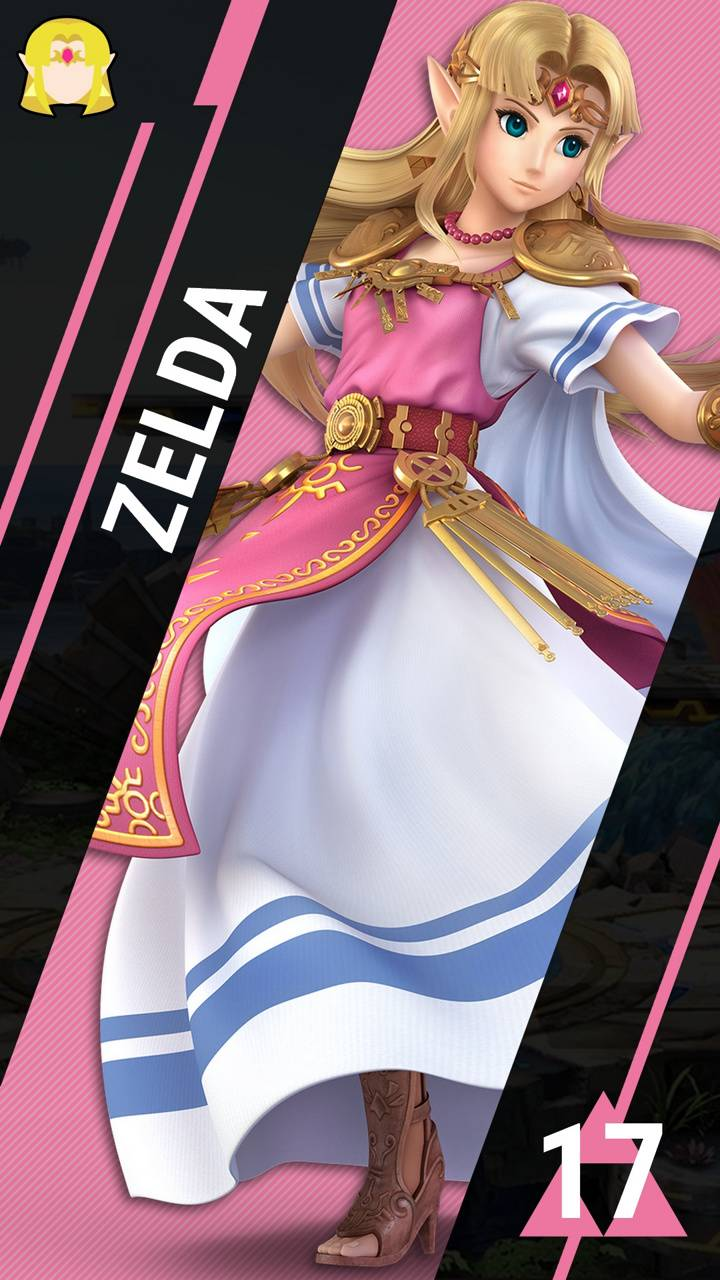 SSBU Zelda wallpaper by Rylow1 - 7e