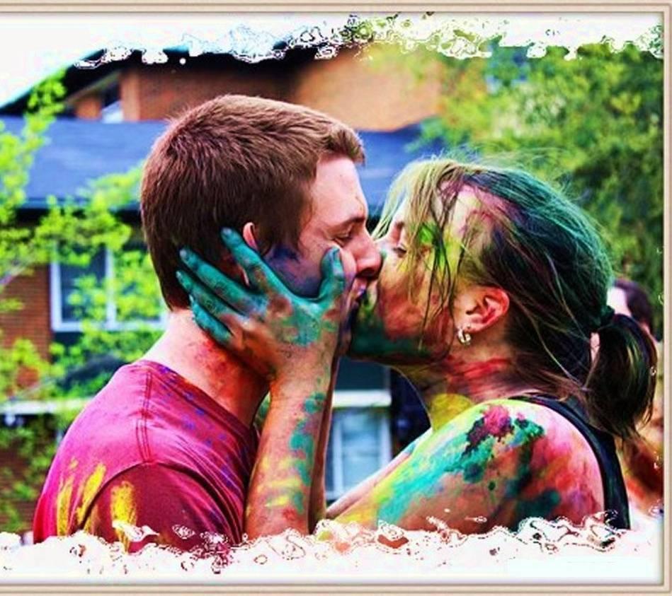 Holi Romance