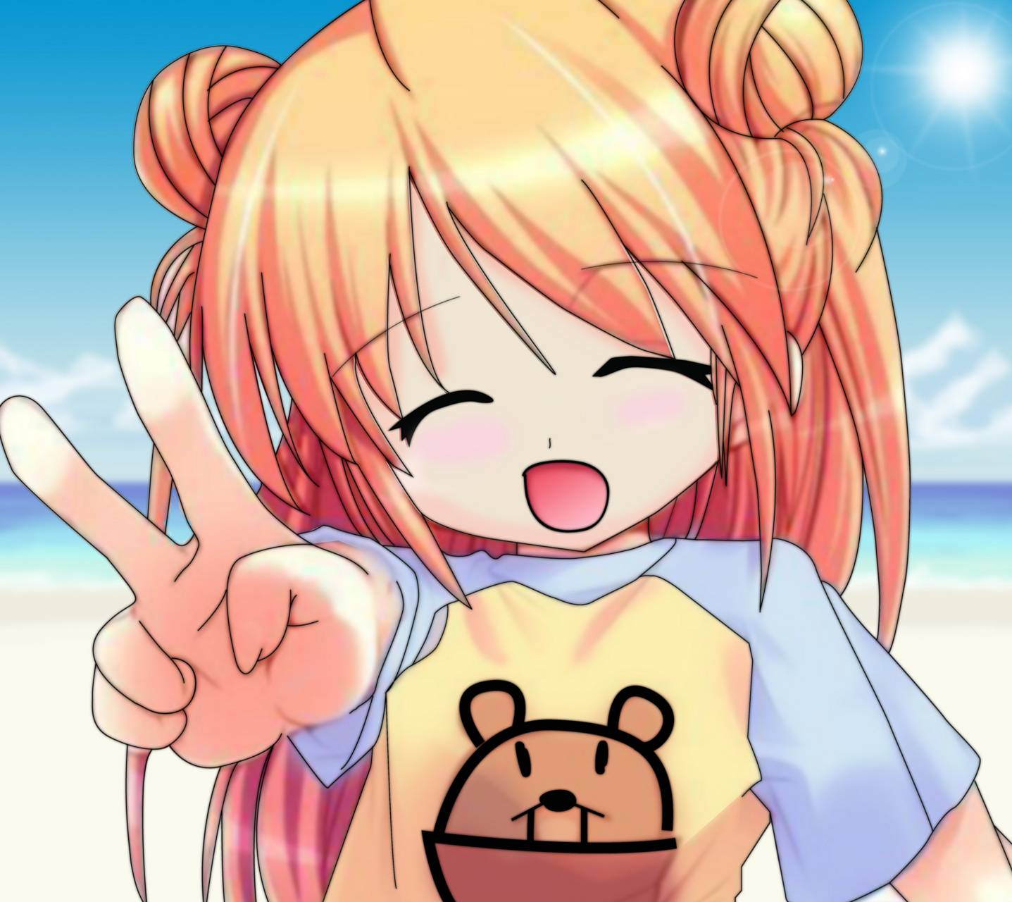 Cute Anime Girl Wallpaper By Thegrandstaf94 Af Free On Zedge