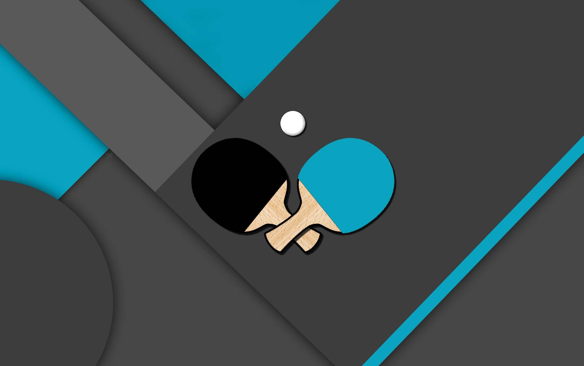 Table Tennis Blue