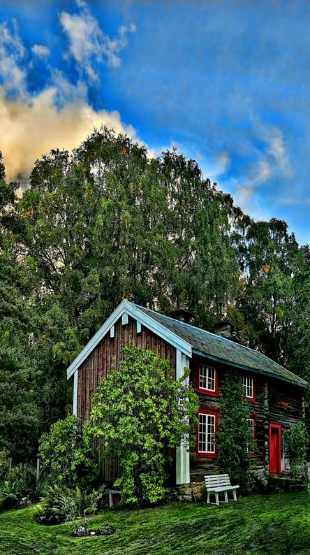 A little farmhouse