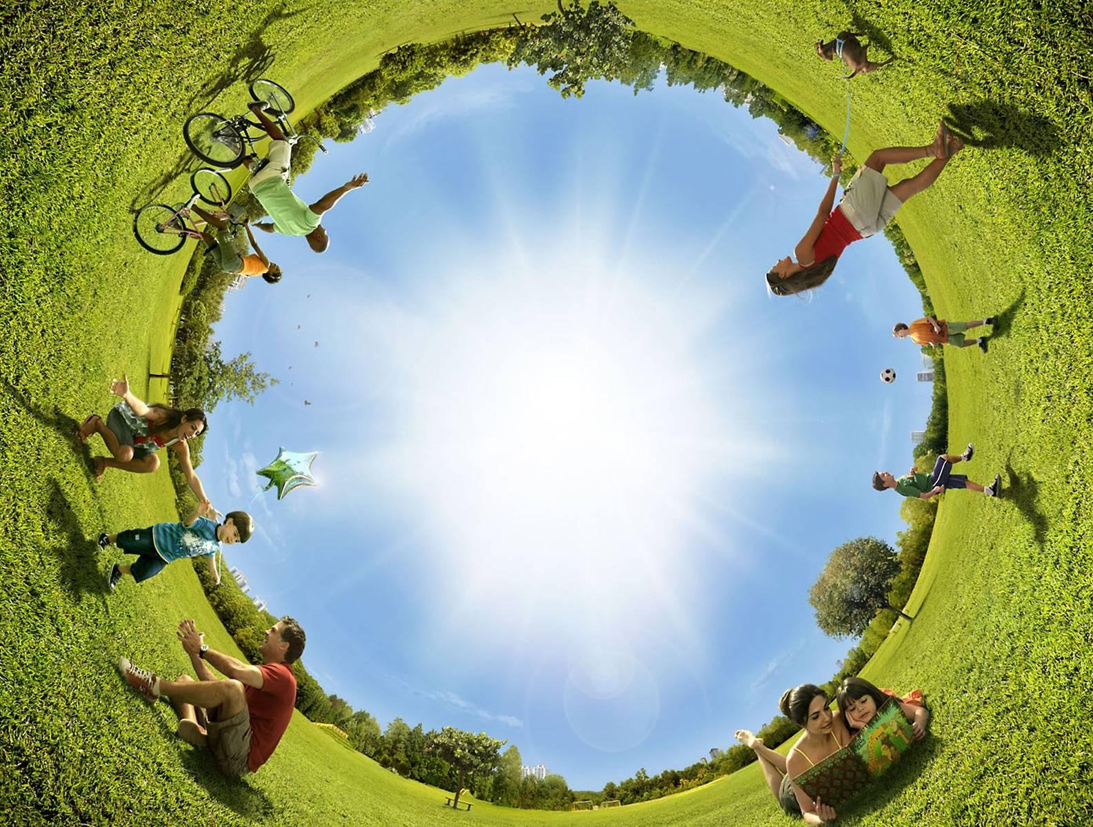 Round Panorama
