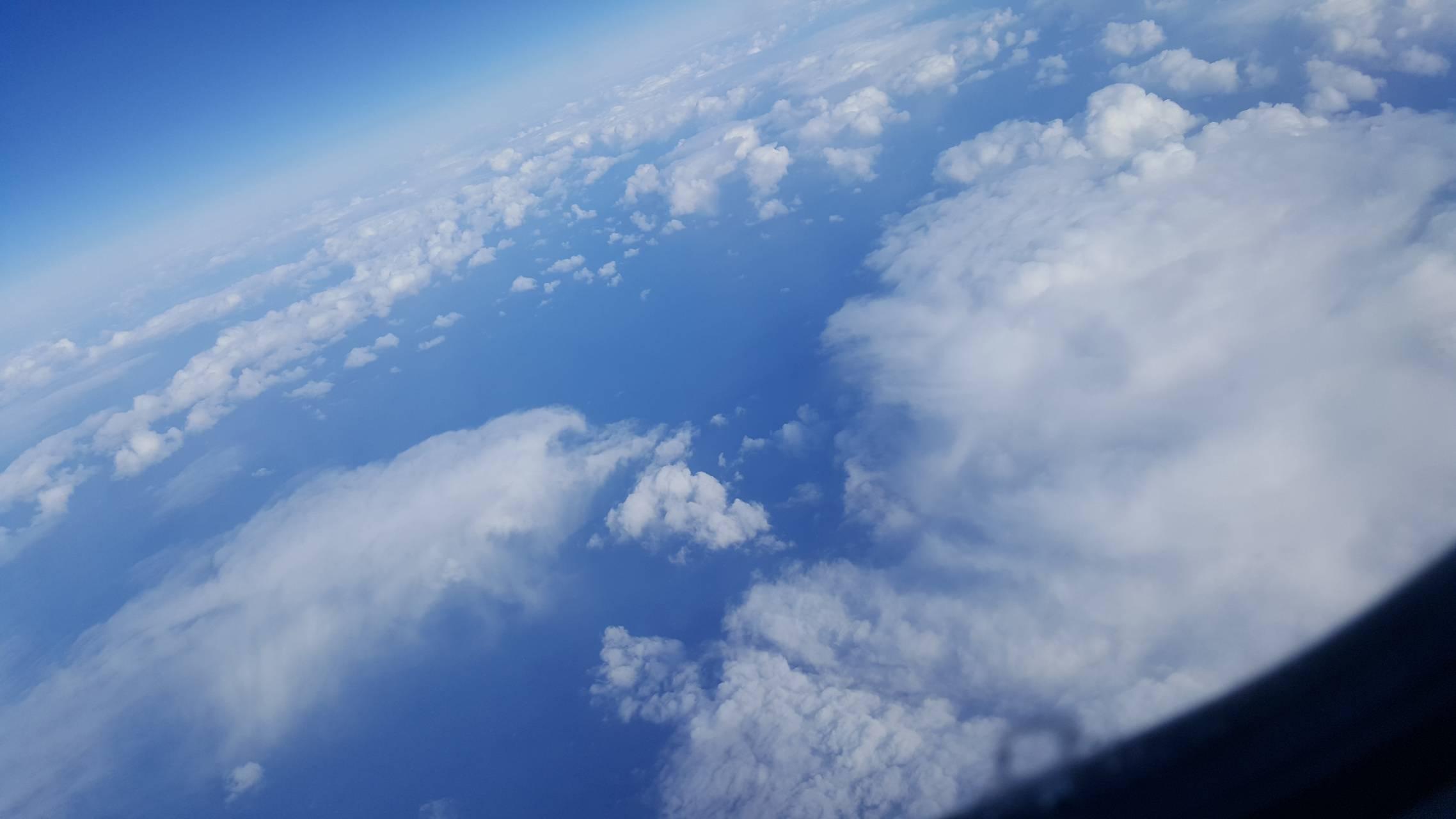 Sky high view