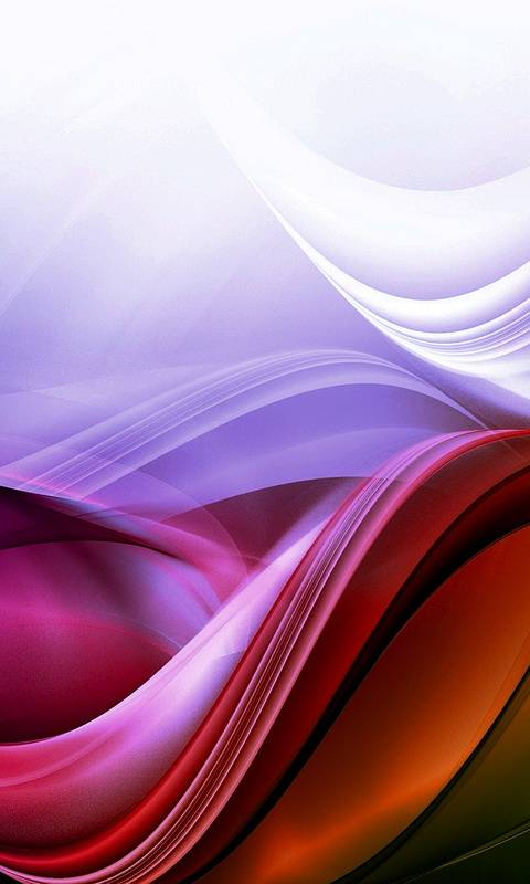 Red-purple Abstract