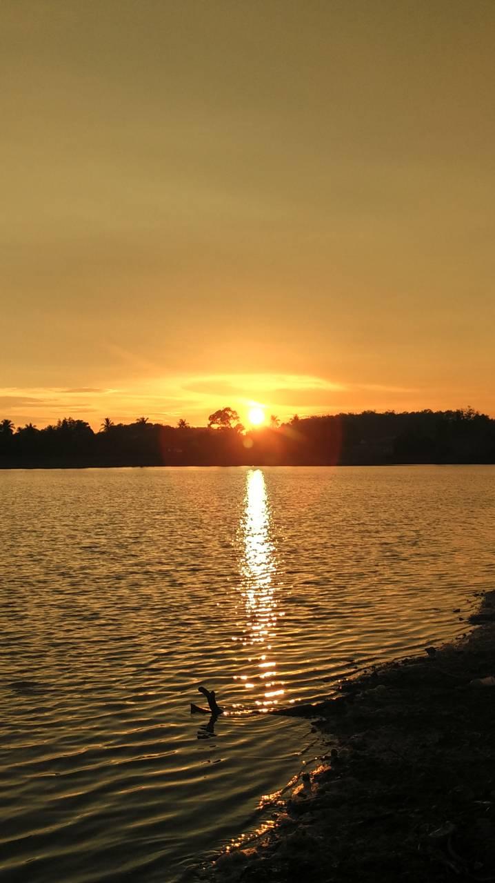 Sunset At Malacca