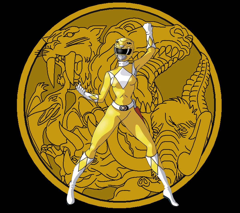 Power Ranger Yellow