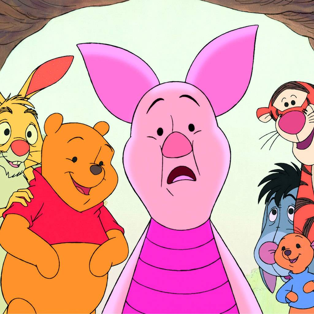 Piglet And Friends
