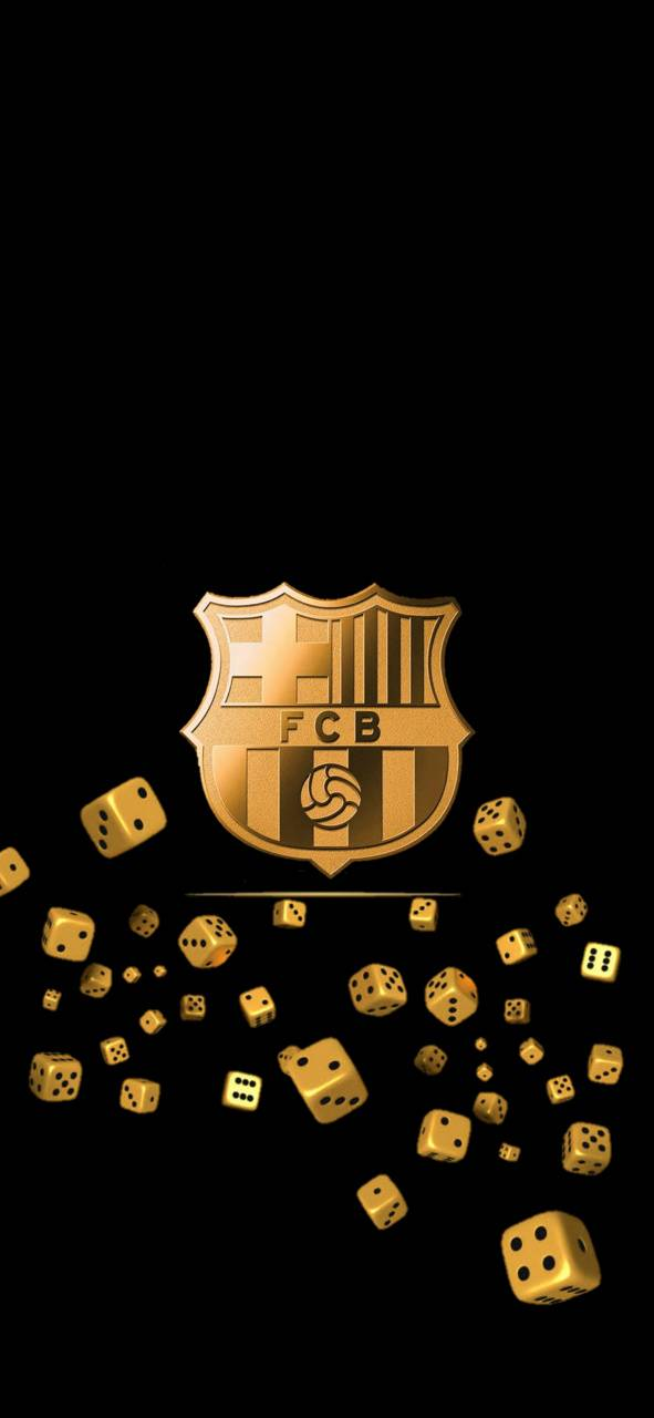 Barcelona Gold Dice