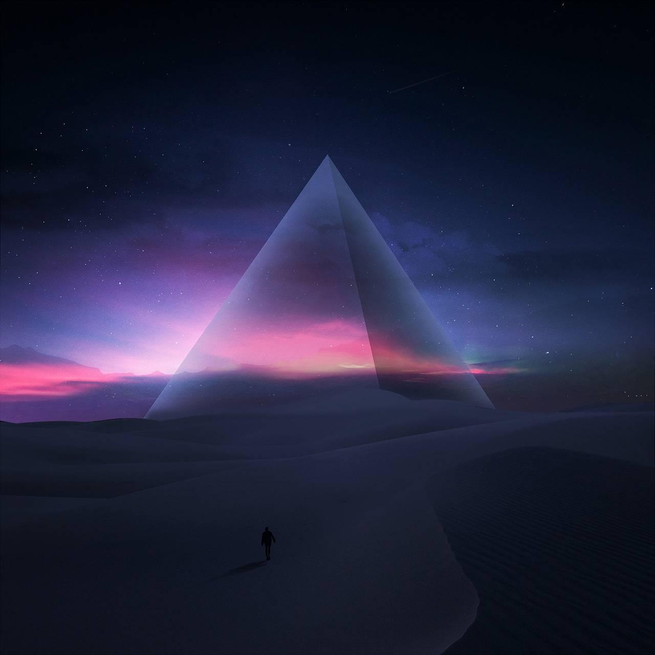 Pyramid Glow