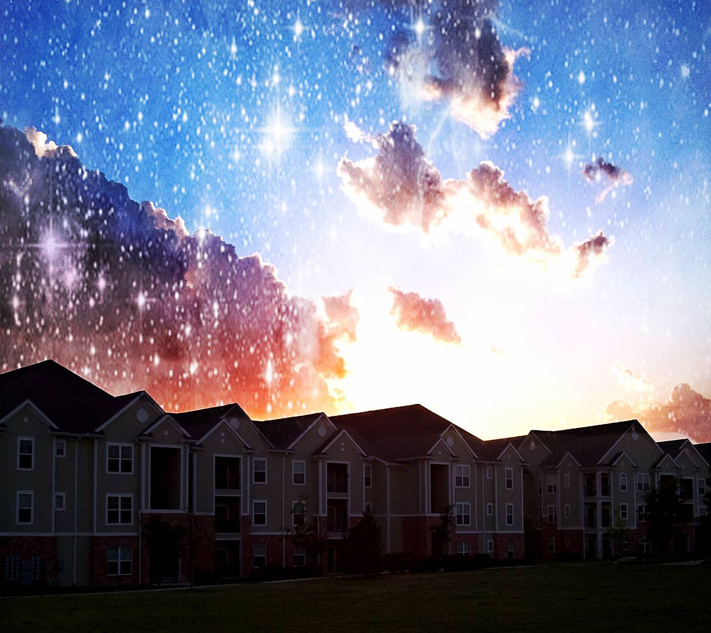 Night light Sky