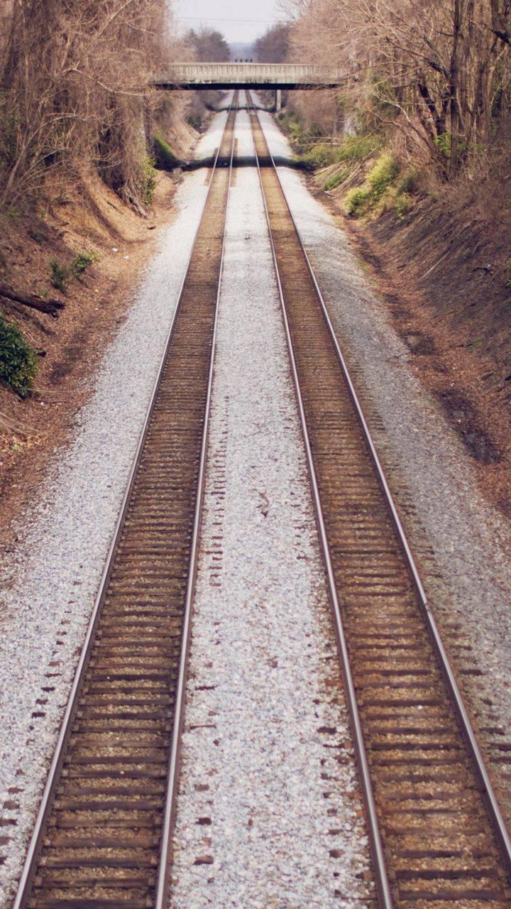 Open Railroad Tracks