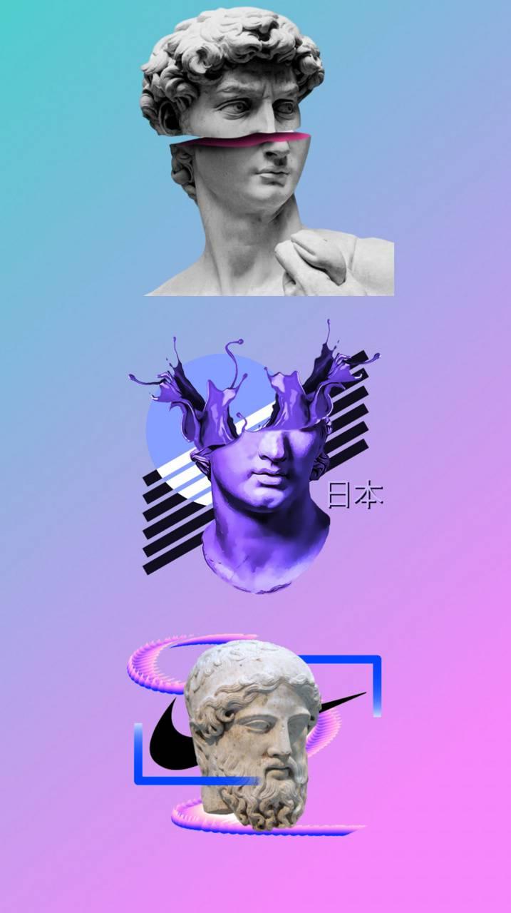 Aesthetic statue
