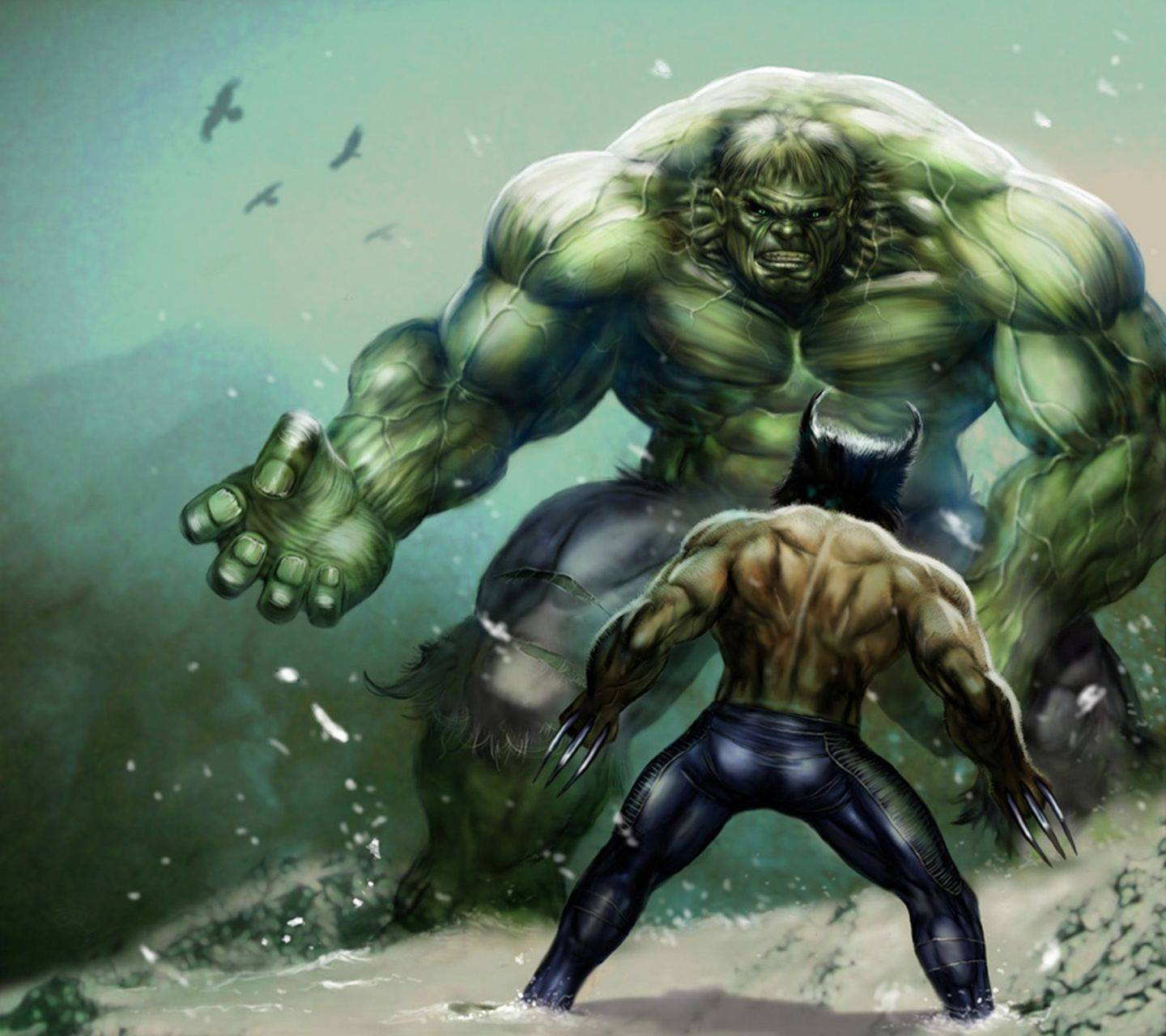 Wolverine And Hulk Wallpaper By JULIANNA