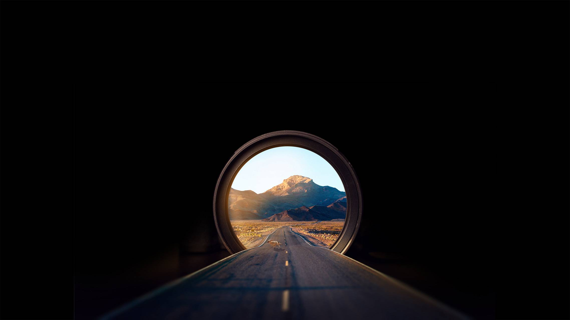 Road in the hole