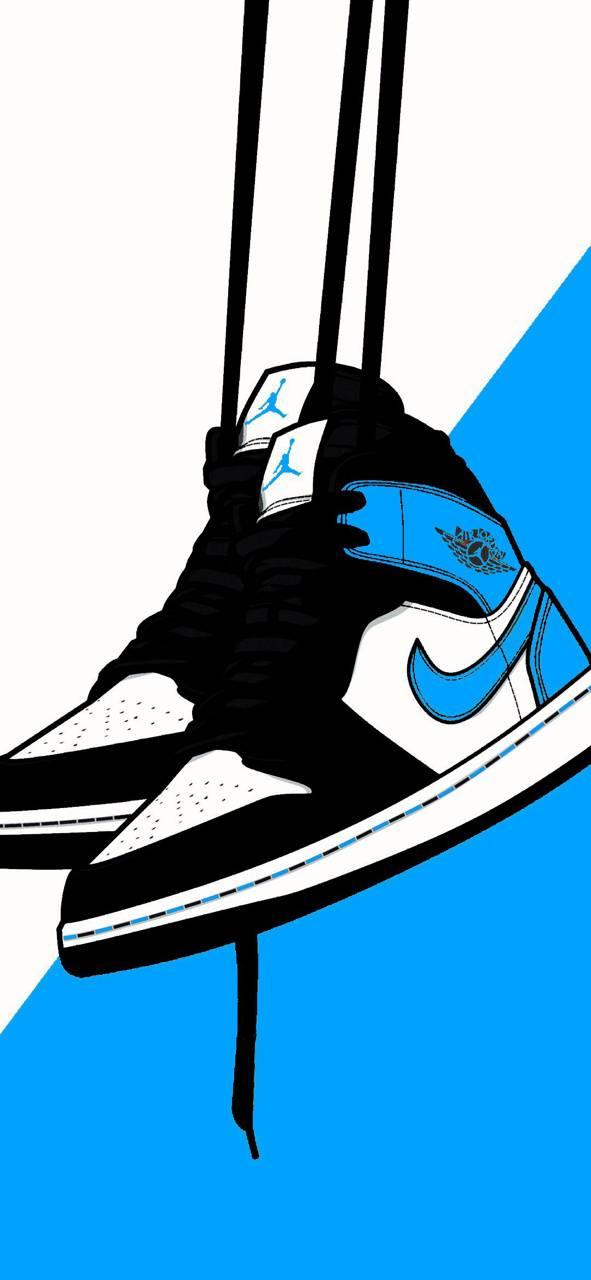 Blue jordan