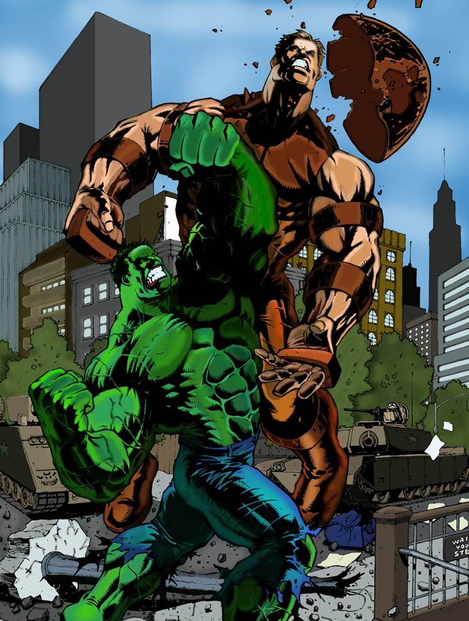 Hulk Vs Juggernaut Wallpaper By Luigyh 88 Free On Zedge