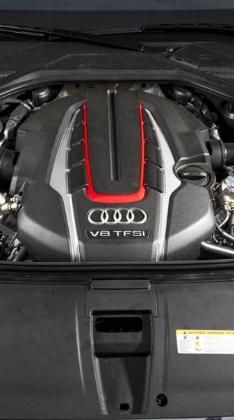 Audi Engine V8 TFSI