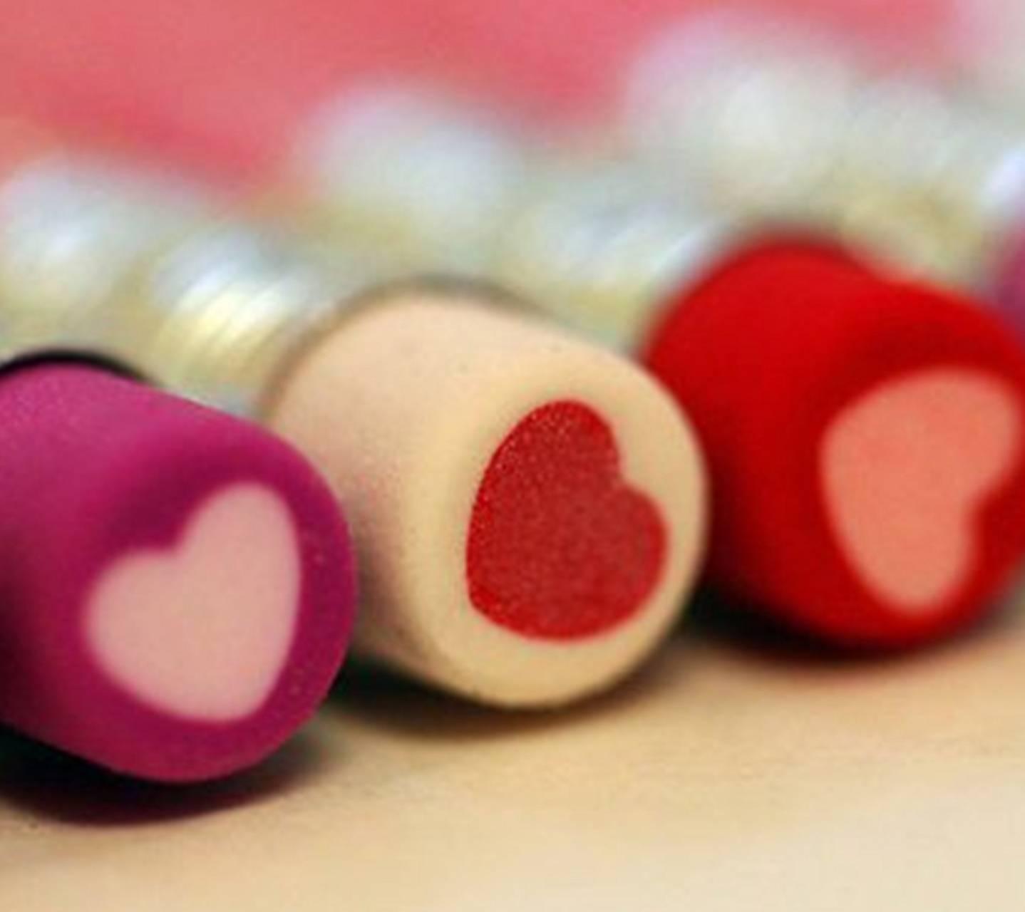 Heart Erasers