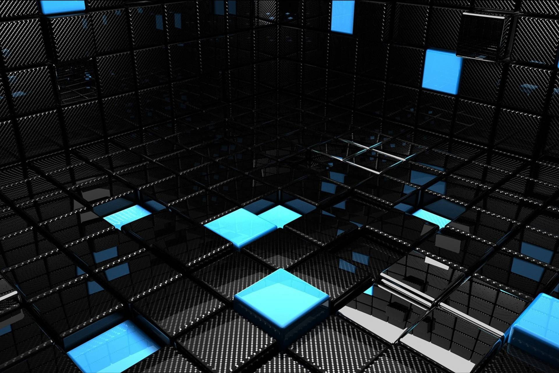 Abstract 3D Room