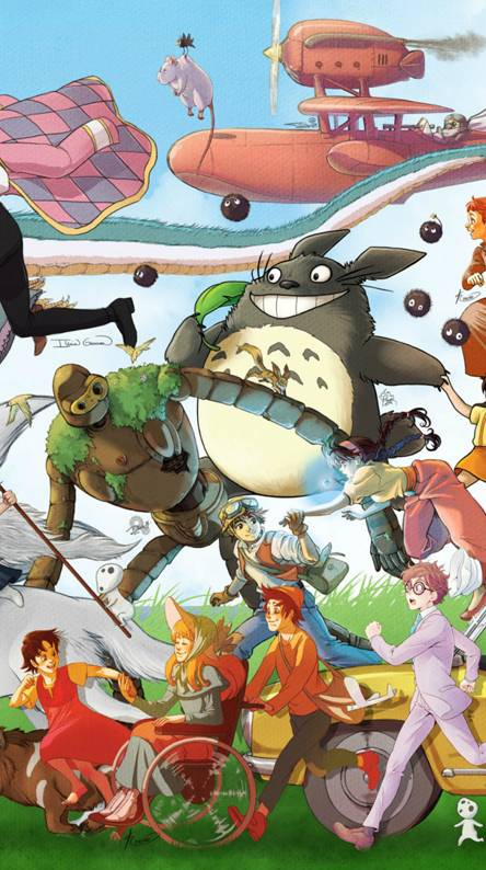 Ghibli Studio Ringtones And Wallpapers Free By Zedge