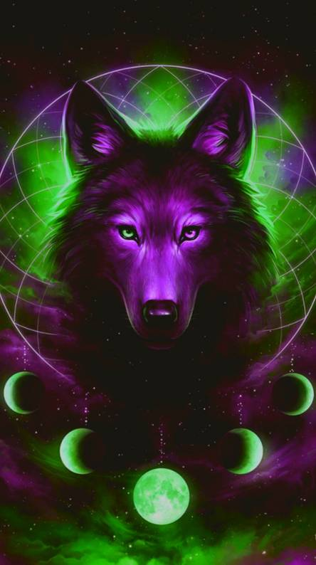 Galaxy Wolf Wallpapers Free By Zedge - pictures of wolves with a galaxy background