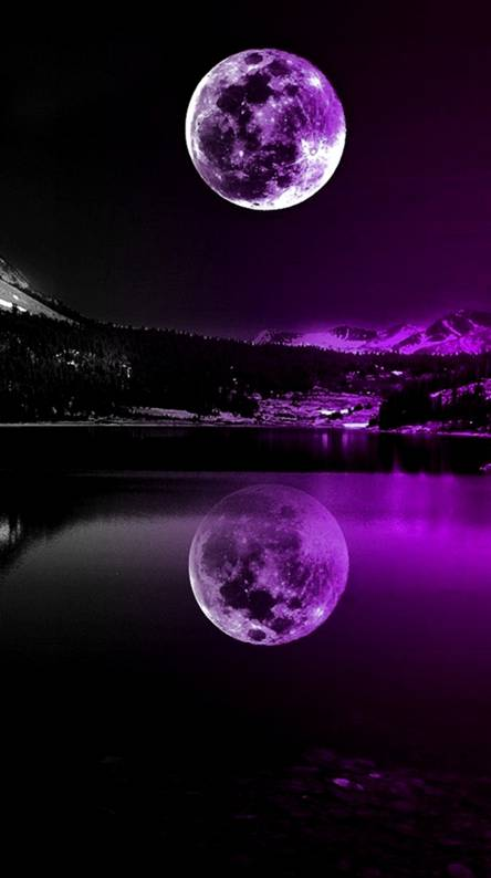 Iphone Dark Purple Aesthetic Wallpaper